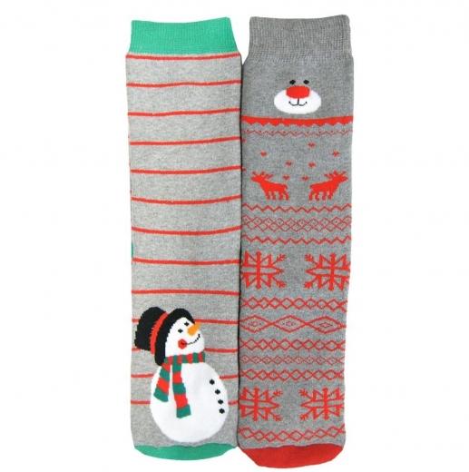 Skarpetki Świąteczne Frotte 6-pak